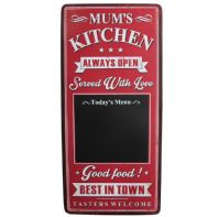 Shabby Chic Metal Kitchen Blackboard